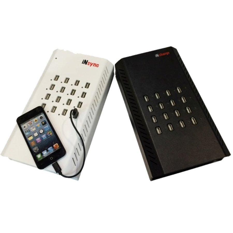 iNsync DU16; Desktop iPad laad en synchronisatie station-2