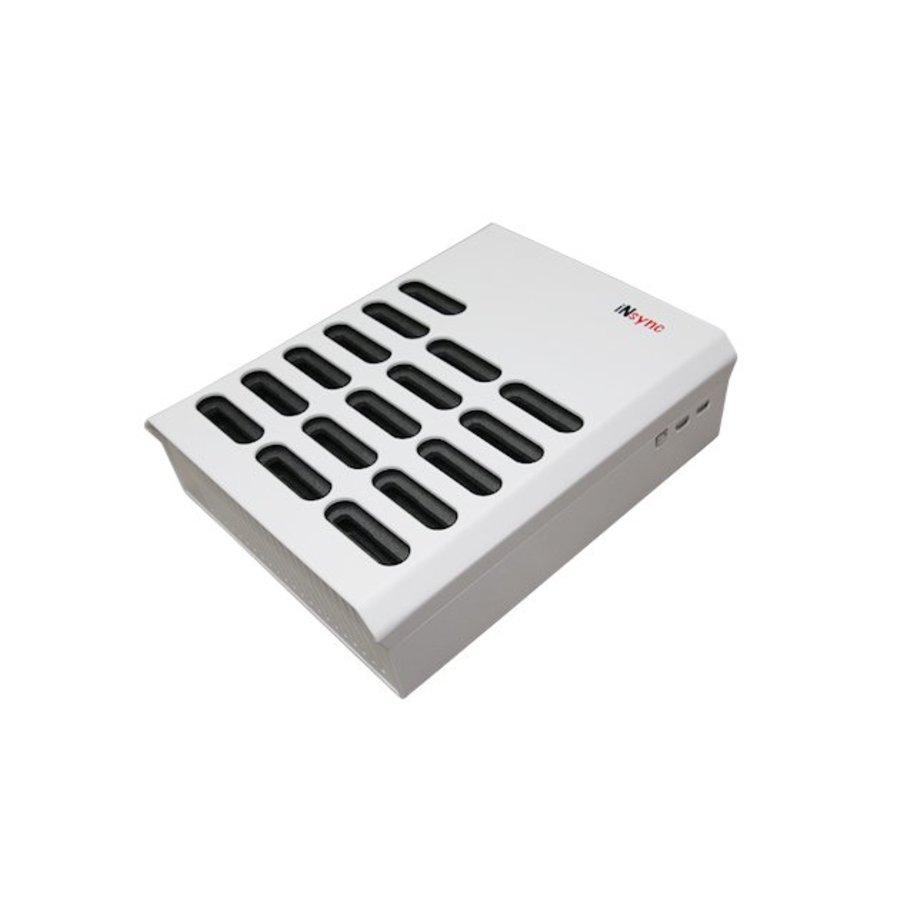 iNsync DL16 Desktop Dockingstation voor 16 iPods-1