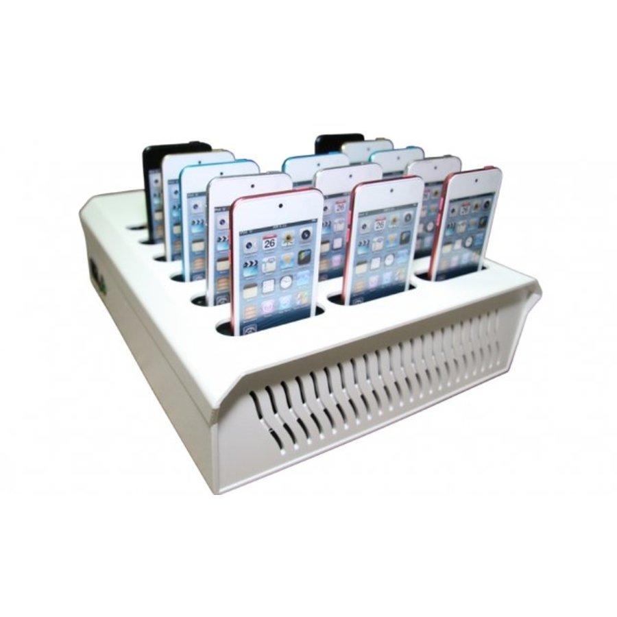 iNsync DL16 Desktop Dockingstation voor 16 iPods-5