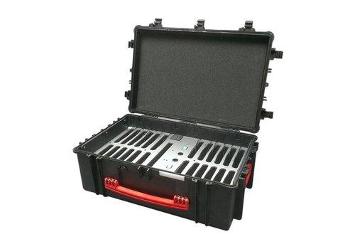 """Parotec-IT opladen & syncen C12 koffer voor 24 iPads en 9-10"""" tablets zonder en met beschermhoes"""
