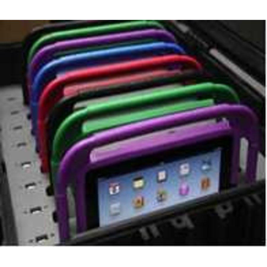 iNsyncC18 opberg, laad, synchronisatieen transport koffer voor maximaal 16 kleine iPad of 7-8 inch tablets-5