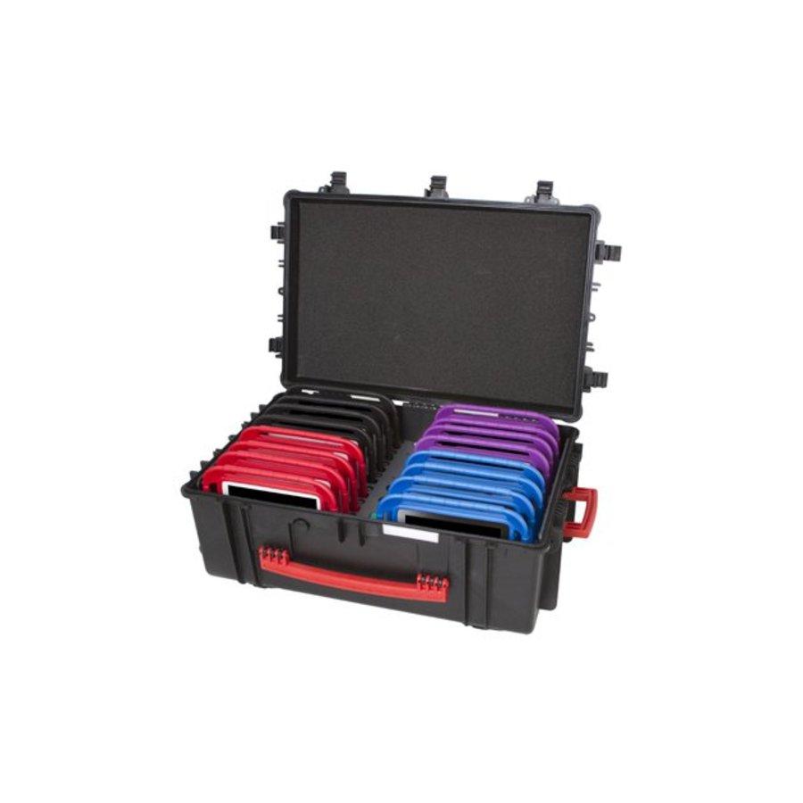 iNsyncC18 opberg, laad, synchronisatieen transport koffer voor maximaal 16 kleine iPad of 7-8 inch tablets-4