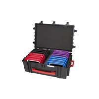 thumb-iNsyncC18 opberg, laad, synchronisatieen transport koffer voor maximaal 16 kleine iPad of 7-8 inch tablets-1