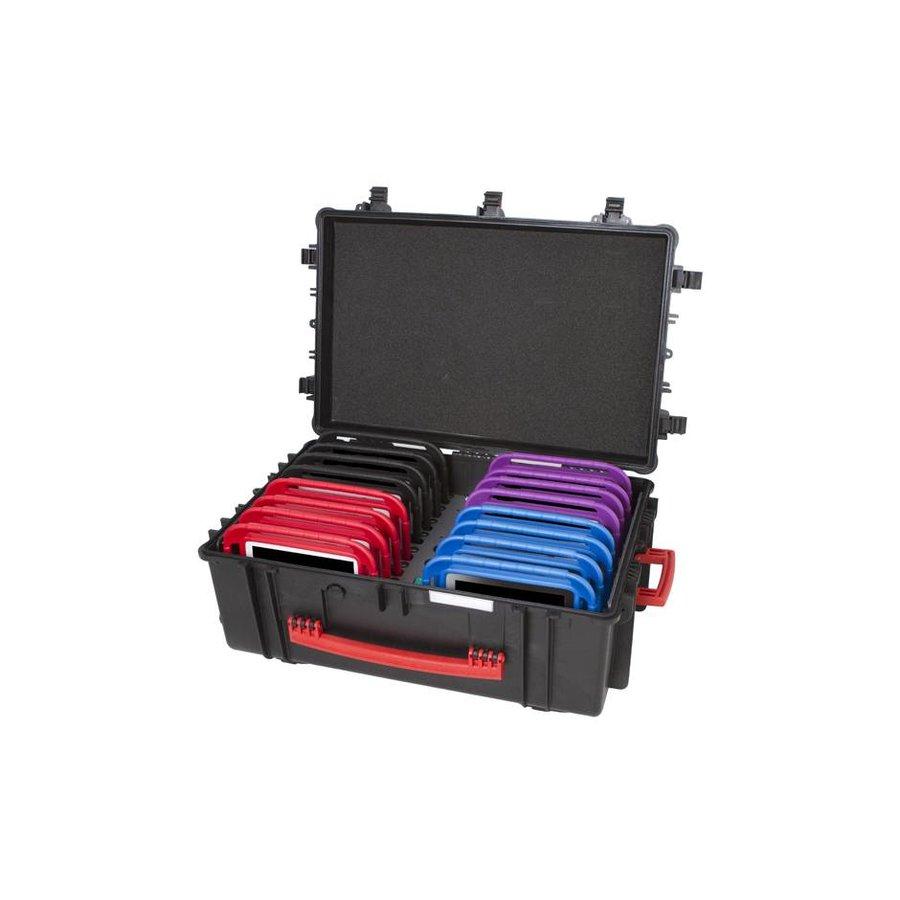 iNsyncC18 opberg, laad, synchronisatieen transport koffer voor maximaal 16 kleine iPad of 7-8 inch tablets-1