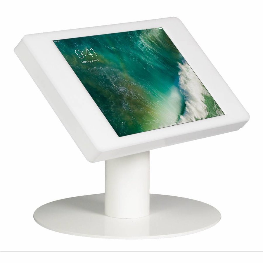 10.5-inch Pro iPadhouder, Fino, wit, tafelstandaard, inclusief slot