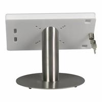 10.5-inch Pro iPadhouder, Fino, wit-rvs, tafelstandaard, inclusief slot