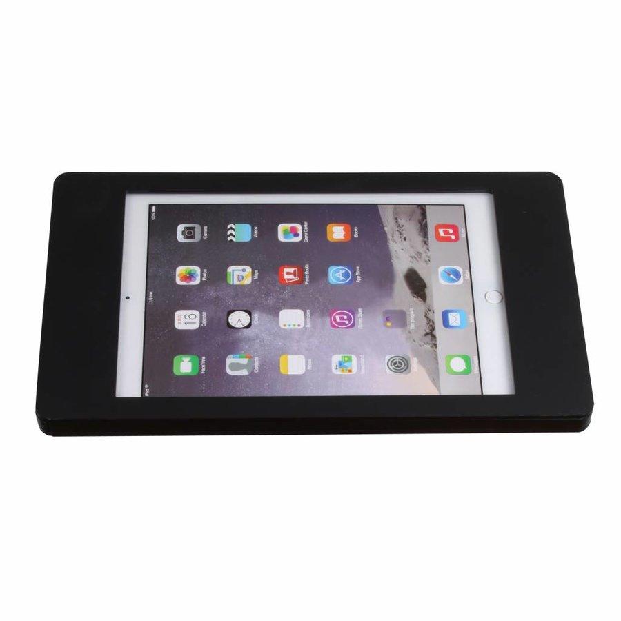 10.5-inch Pro iPadhouder, Fino, zwart, voor montage op tafel of aan wand, inclusief slot