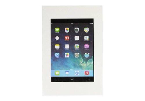 """Muurhouder wit plat tegen wandmontage iPad Mini Securo 7-8"""" tablets"""