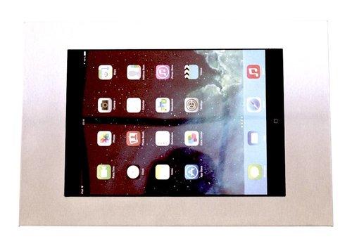 "Muurhouder RVS stalen voet plat tegen wandmontage iPad Mini Securo 7-8"" tablets"