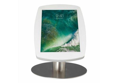 """Tafelstandaard iPad 10.5"""" Lusso wit met RVS stalen voet"""