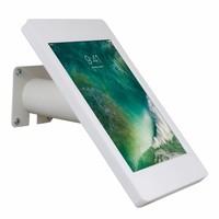 10.5-inch Pro iPadhouder, Fino, wit-rvs, voor montage op tafel of aan wand, inclusief slot