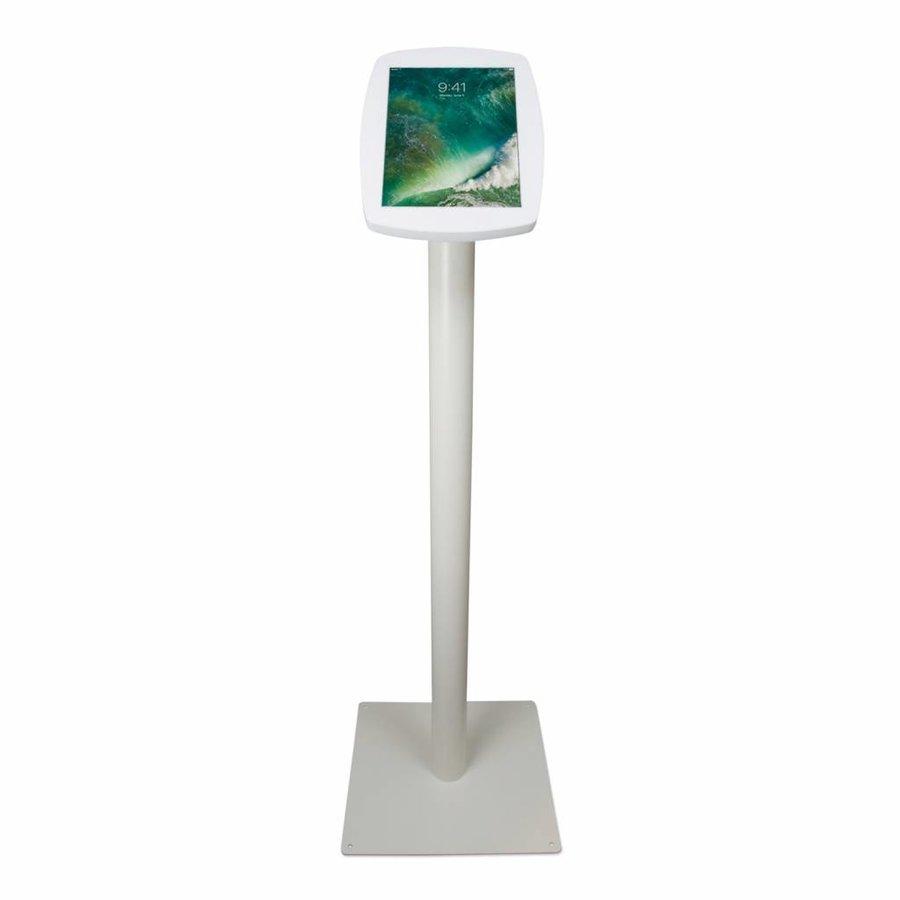 iPad Pro 10.5-inch, stijlvolle stabiele vloerstandaard Lusso, inclusief slot, wit
