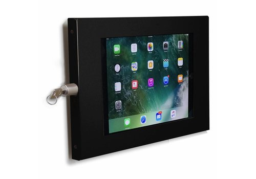 "Muurhouder zwart plat tegen wandmontage 10.5-inch iPad Pro Securo 10-11"""