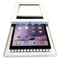 iPad Pro 10.5-inch, vloerstandaard Securo, afsluitbaar, wit