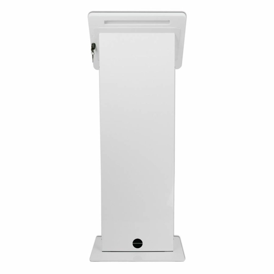 "Display vloerstandaard voor iPad 12,9"", wit, Largo"