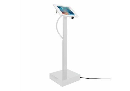 Vloerstandaard elektrisch hoogte verstelbaar 9.7-inch iPad wit Fino Ascento