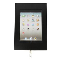 iPad 9.7/10.5 wandhouder zwart, plat tegen wandmontage, voor Air, iPad 2017 en Pro 10,5-inch; Securo 9-11 inch tablets