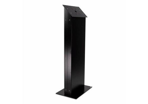 Vloerstandaard display zwart, wit Largo