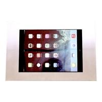 iPad 9.7/10.5 wandhouder RVS/staal, plat tegen wandmontage, voor Air, iPad 2017 en Pro 10,5-inch; Securo 9-11 inch tablets