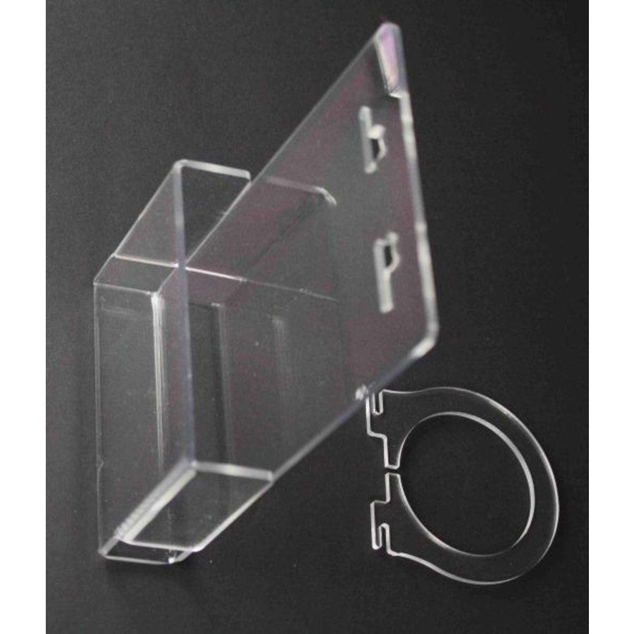 Brochurehouder / Folderbak A4 staand