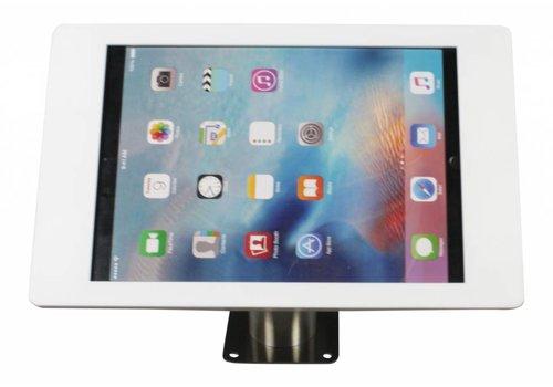 "Tablethouder wand-tafelmontage iPad 12.9""  Fino wit met RVS stalen voet"