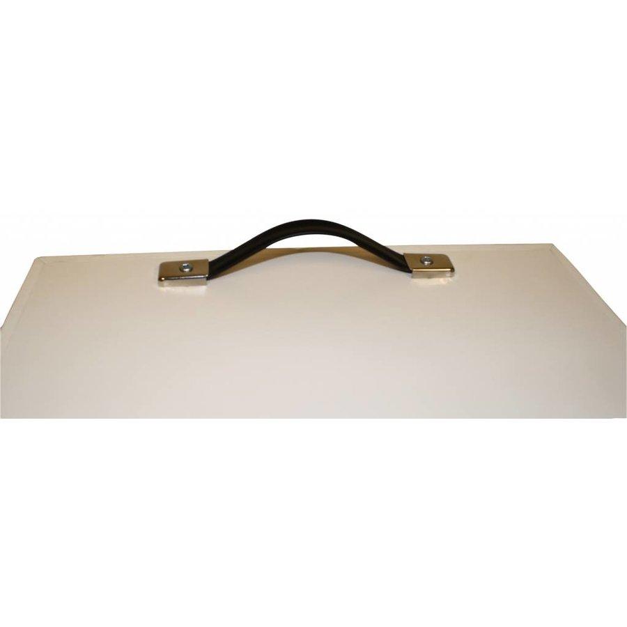 Transportcase voor gemonteerde iPad tablet vloerstandaarden van Bravour, geschikt voor Securo, Meglio, Fino en Lusso