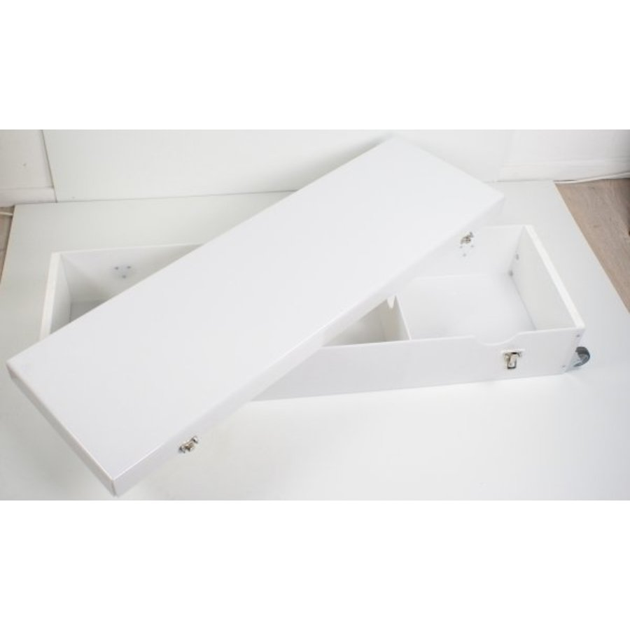 Koffer voor gedemonteerde iPad tablet vloerstandaarden van Bravour, geschikt voor Securo, Meglio, Fino en Lusso