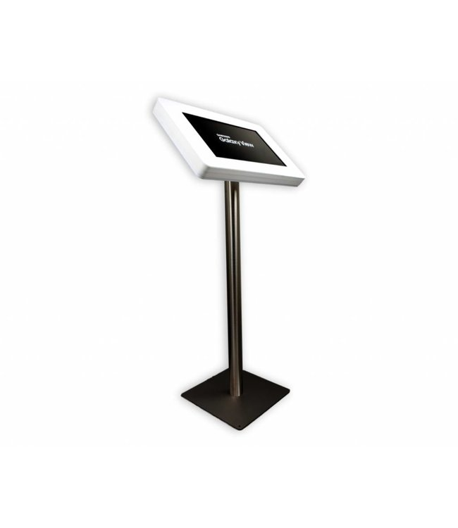"Bravour Floor stand for Samsung Galaxy View 18,4"" white/stainless steel, Fino"