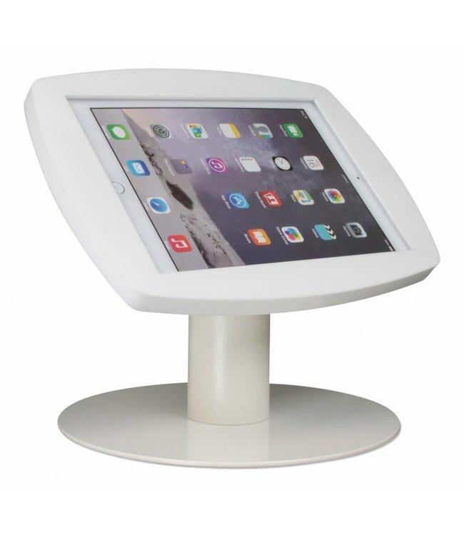 ipad kiosk for ipad air ipad pro 9 7 desk stand lusso white rh tabletdisplaystandshop com ipad desk stand best buy ipad desk stand reviews