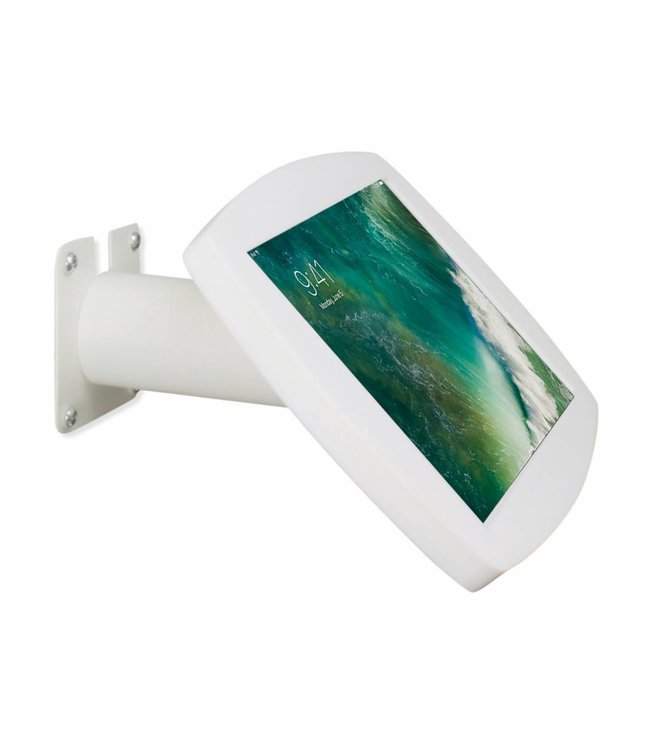 """Bravour iPad kiosk for iPad Pro 10.5"""", for mounting on table or wall, including lock, white"""