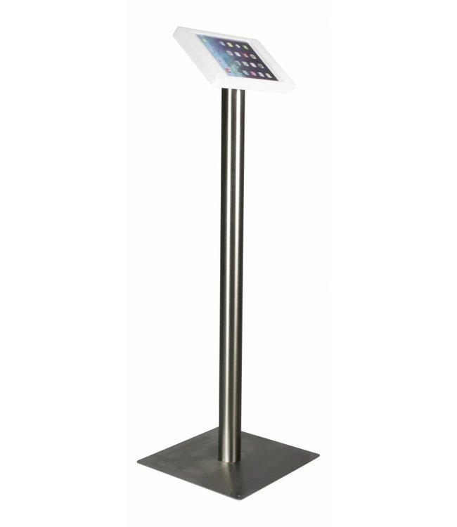 "Bravour iPad Floor Stand for iPad Air/iPad Pro 9.7"", Fino, white/stainless steel"