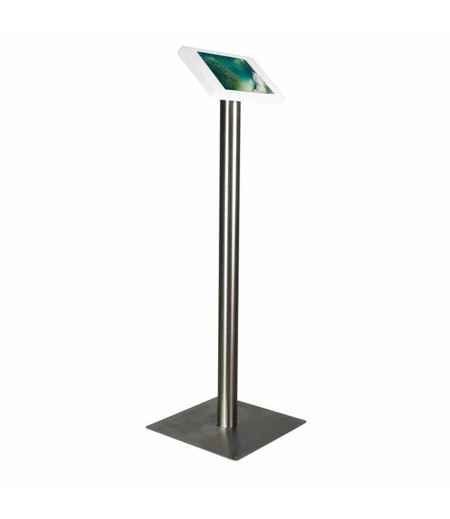 "Bravour iPad Floor Stand for iPad Pro 10.5"", Fino, white/stainless steel"