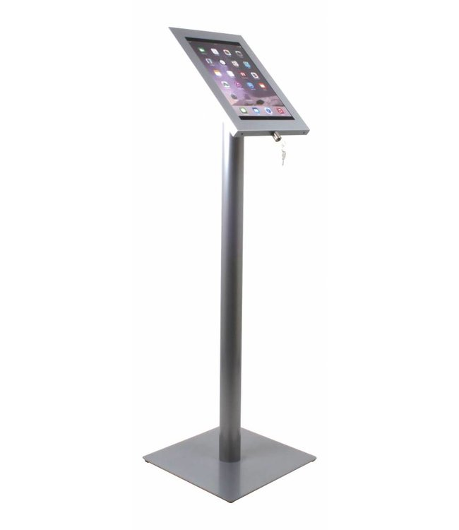 Bravour Tablet floor display stand for tablets 12-13 inch, Securo, universal casing, grey