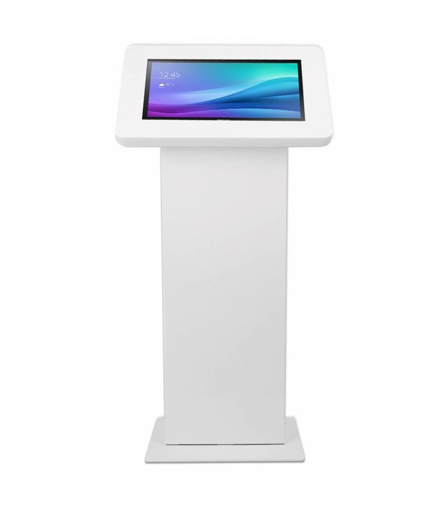Bravour Monitor & Touch screen Floor stand, Largo, white
