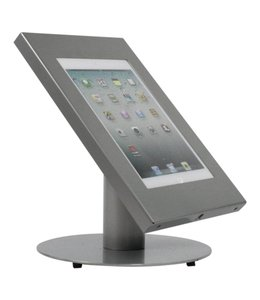 Bravour Desk standing tablet holder for tablets 9-11 inch, Securo, grey