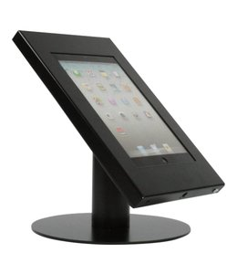 Bravour Desk standing tablet holder for tablets 9-11 inch, Securo, black