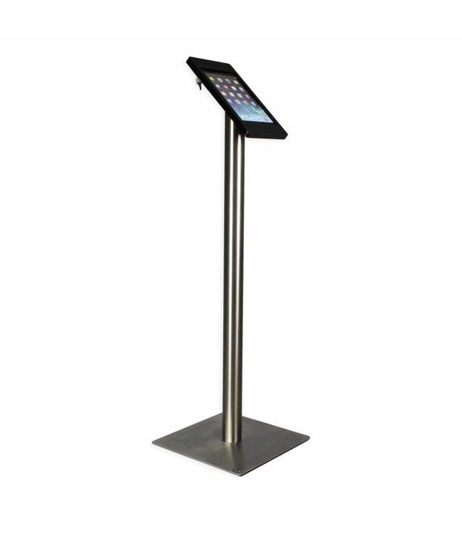 Bravour iPad Floor Stand for iPad Mini, Fino, black/stainless steel