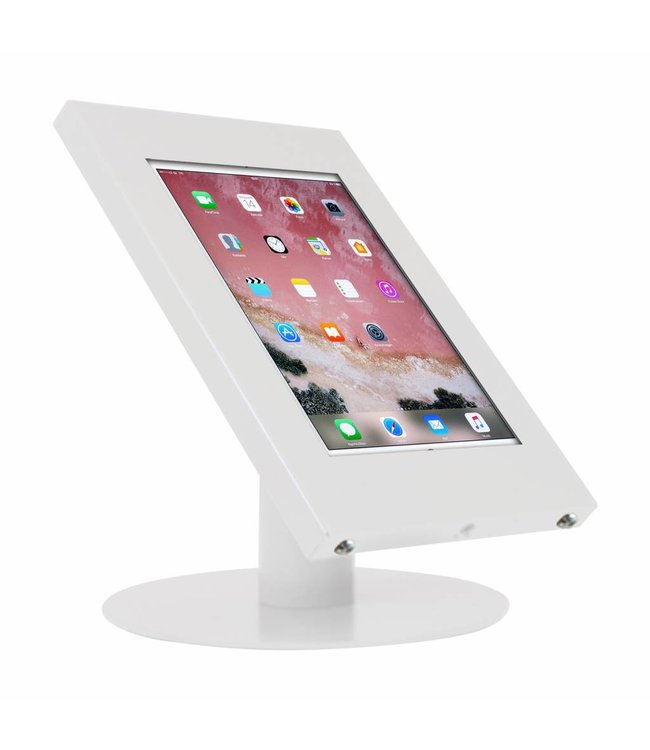 "Bravour Tablet desk display stand for iPad 10.5"", Securo, universal casing, white"