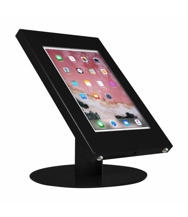 "Bravour Tablet desk display stand for iPad 10.5"", Securo, universal casing, black"