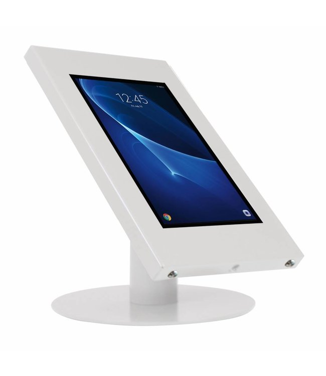 "Bravour Tablet desk display stand for Galaxy Tab A 10.1"" and other 10.1"" tablets, Ferro, universal casing, white"