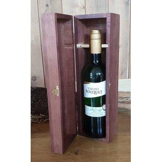 Houten wijnkist
