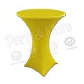 Statafelrok stretch geel