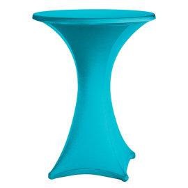 Statafelrok stretch turquoise