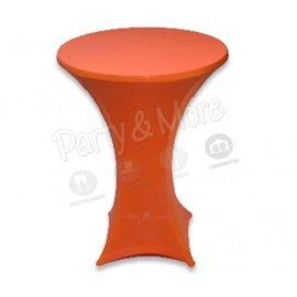 Statafelrok stretch oranje