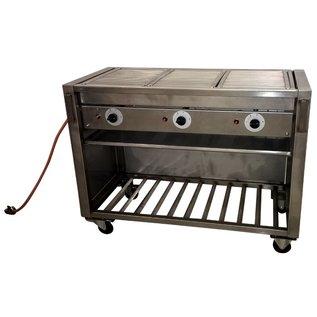 Barbecue groot gas zwart