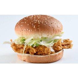 Crunchy kipburger