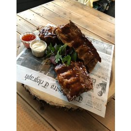 Spare ribs  zoet
