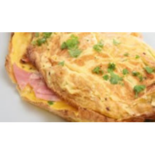 Omelet Ham en Kaas