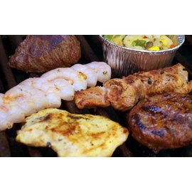 Barbecue buffet 4