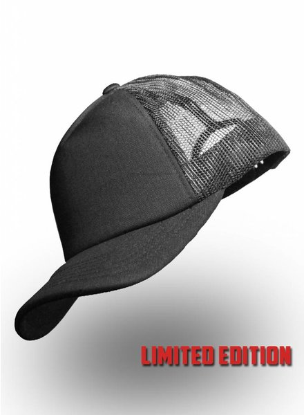 State of WoW Retro Truckers Cap Black